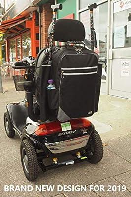 Simplantex CWSBU28 Crutch or Walking Stick Bag, Black