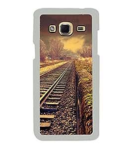 YuBingo Samsung Galaxy J3 (6) 2016 :: Samsung Galaxy J3 2016 Duos :: Samsung Galaxy J3 2016 J320F J320A J320P J3109 J320M J320Y 2D Designer Phone Back Case Cover ( The Railway Track )