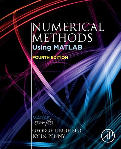 Numerical Methods: Using MATLAB