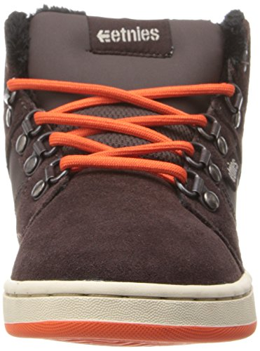 Etnies High Rise, Chaussures de skateboard garçon Marron (Brown)