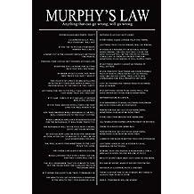 Posterboy 'Murphy's Law' Poster (30.5 cm x 45.7 cm, Multicolor)