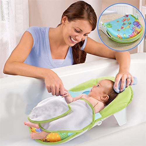 Lvbeis Baby Badewannensitz Badesitz Sicherheit Rutschfest Infant Faltbar Bad Net