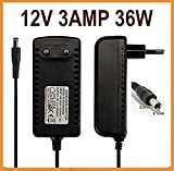 #2: Nirmals 12v 3amp DC Power Adapter, Supply, Charge, SMPS for PC, LCD Monitor, TV, LED Strip, CCTV, 12Volt 3A Power Adapter.