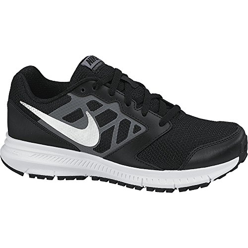 Nike Downshifter 6 - Scarpe Running Unisex - Bambini, Nero (Black/metallic Silver-cool Grey-white-black), 38 EU