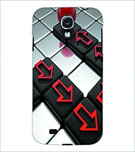 PRINTSWAG BUTTONS Designer Back Cover Case for SAMSUNG GALAXY S4