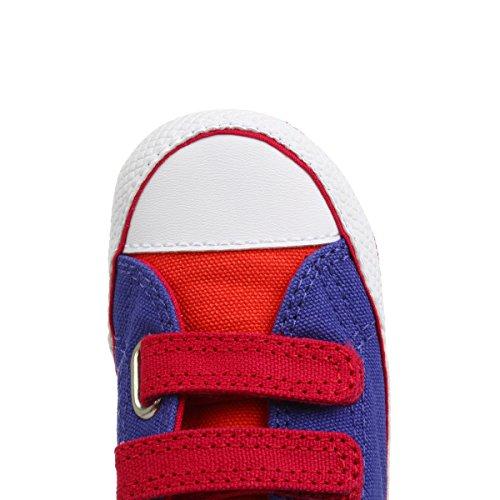Converse Chuck Taylor Crib Scratch, Baskets mode mixte bébé Periwinkle