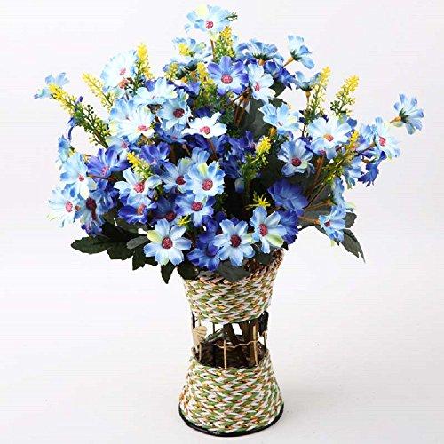 SituMi Fiori artificiali crisantemo fiore di seta fiore di emulazione