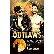 Outlaws: MFM Wolf Biker Romance (English Edition)