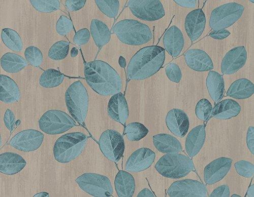 Mit dreidimensionalen tiffany Blättern auf taupefarbenem Untergrund. Cloe' 92119 -