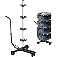 Jago - Soporte para almacenar neumáticos,ruedas y llantas - para neumático de diámetro 225 mm - carga máx. 100 kg