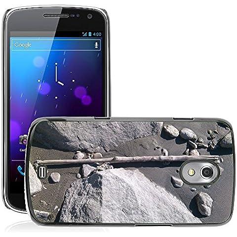 Etui Housse Coque de Protection Cover Rigide pour // M00310241 Planta Piedras Banco Piedra Natural // Samsung Galaxy Nexus GT-i9250 i9250