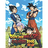 Dragon Ball Z Coloring Book: Coloring Book Series for Kids and Adults. Simulates the Dragon Ball Z Manga Chapter by Chapter Vol.3 30th Anime Anniversary