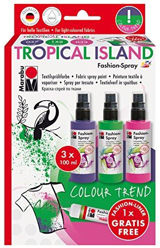 marabu-171900085-fashion-spray-sortierung-tropical-island-3-x-100-ml-mehrfarbig