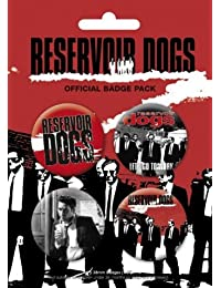 Reservoir Dogs - Badge Pack - 4 x 38mm Badges