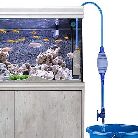 Laelr Aquarium-Reiniger, Aquarium-Reiniger Siphon-Vakuumpumpen-Kies-Reiniger, Selbstansaugender Wasserwechsler mit…