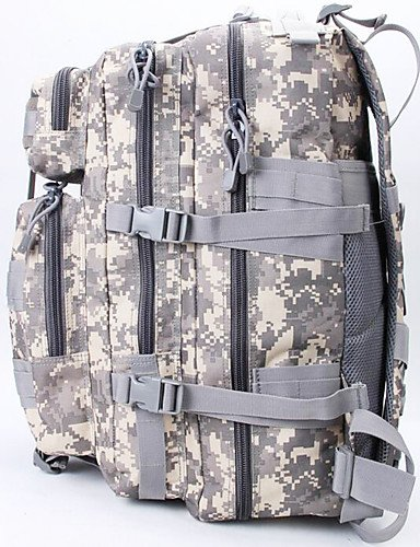 ZQ 50 L Tourenrucksäcke/Rucksack / Rucksack Camping & Wandern Draußen Multifunktions Armeegrün Nylon Other cp color