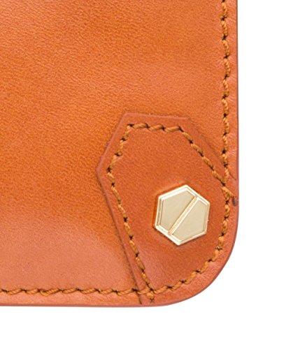 Apple iPhone 6S / 6 Melkco Hex-Rock Série Rocher Pochette PU Case Et Crafted main Porte-monnaie stand Case Fashion Wallet Carlo Marron rétro