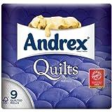 Andrex superbe Confort courtepointes Papier Toilette 9par lot de 1
