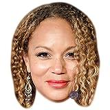 Angela Griffin Maschere di persone famose, facce di cartone