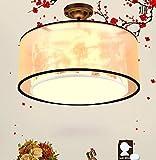 I moderni lampada camera da letto operetta camera d'albergo a soffitto luci nuovo cinese camera da letto della lampada salotto circolare stanza tana accogliente