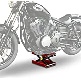 Cric moto ConStands Mid-Lift M rouge pour Harley Davidson Road King Classic (FLHRC/I)