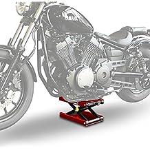 Elevador Tijera Moto ConStands Mid-Lift M rojo para Harley Davidson V-Rod Muscle (VRSCF)