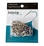 bbloop Pearl Snap Fasteners. 12Count