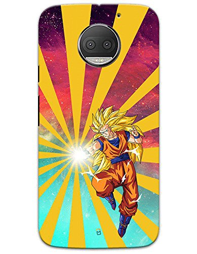 Motorola Moto G5S Plus Cases & Covers - Dragon Ball Z Goku Raging Blast Case by myPhoneMate - Designer Printed Hard Matte Case - Protects from Scratch and Bumps & Drops.  available at amazon for Rs.499