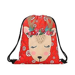 TENDYCOCO unicorno zaino con coulisse zaino mazzo tasca borsa per custodia cosmetica di fitness