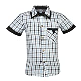 Beanie Bugs Navy check shirt for Toddler Boys (12-18 Months)