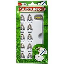 New Hasbro All White Kit Subbuteo 11 Spare Flexible Players Set Leeds Madrid 8y+