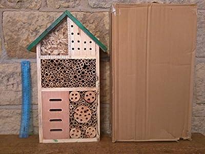 Insektenhotel für Bienen und Insekten von Bee Proof Suits auf Du und dein Garten