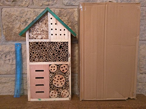 Insect Palace Bee and Bug Home Insect Hotel Test