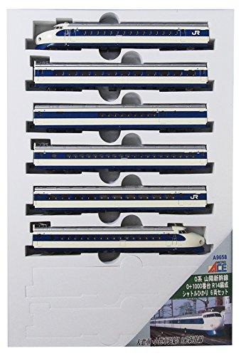 N calibro A9658 0 a base di Sanyo Shinkansen 0 + 1000 serie R14 organizzato navetta Luce 6-Car Set