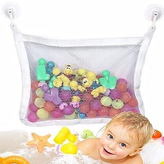 aohang Kids Baby Zeit Badespielzeug ordentliche Aufbewahrung Saugnapf Tasche Mesh Badezimmer Organizer Net