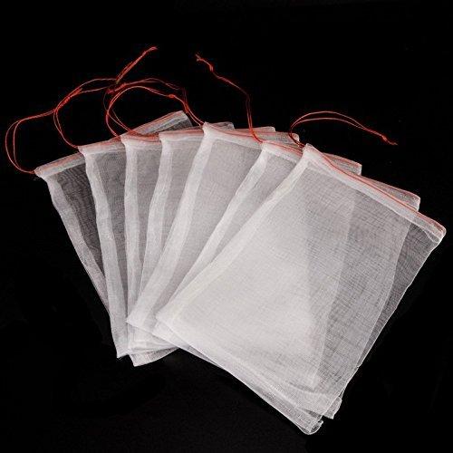 30 Stück Insekten Moskito Bug Net Barrier Bag Garten Pflanze Obst Blume schützen Tasche Garten Netting Tasche zum Schutz Ihrer Pflanze Früchte Blume von ICEBLUEOR, 6