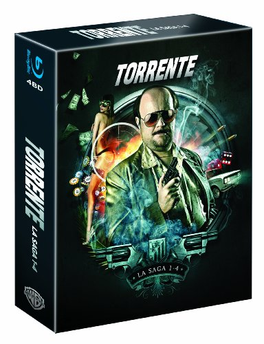 Torrente Coleccion 1-4 [Blu-ray] [Spanien Import]