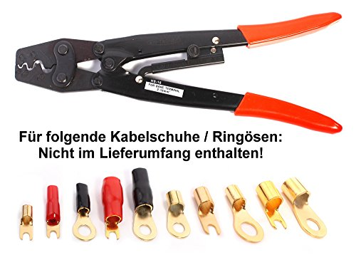 Crimpzange 1,5-16mm² HS-16 ideal für Car-HiFi