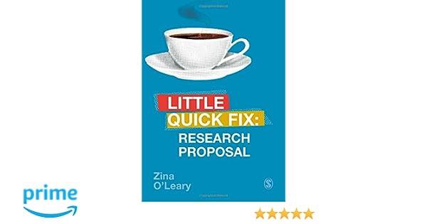 Research Proposal Little Quick Fix