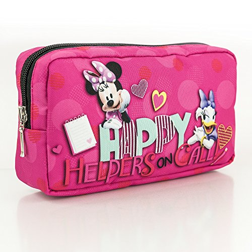 Disney Minnie Mouse MINNIE&DAISY COLLECTION porte-crayon trousse d'écolier trousse de toilette Modèle 2018