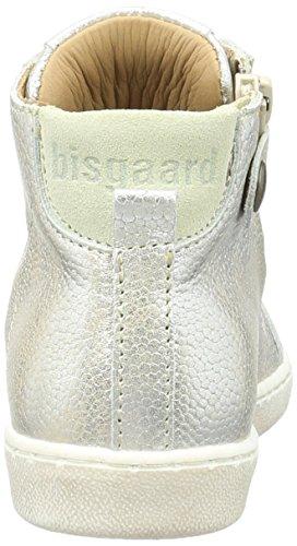 Bisgaard Unisex-Kinder Schnürschuhe High-Top Silber (7011 Silver)