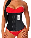 Picture Of YIANNA Women's Latex Waist Trainer for Weight Loss Body Shaper Cincher Corset Sport Training Girdle