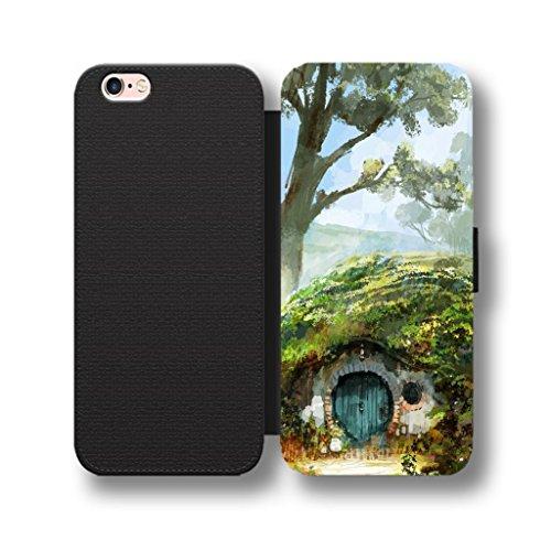 Das Shire House Hobbit Flip-Telefon Schutzhülle Wallet Cover für Samsung Galaxy S7Edge