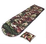 Saco de dormir al aire libre Suministros militares individuales Camping Camouflage Adult Sleeping Bag ( Tamaño : S )