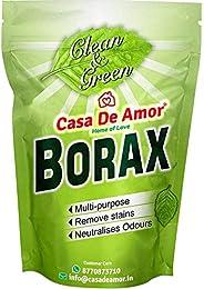 مسحوق بوراكس الأساسي من كاسا دي أمور ، نقي بنسبة 100٪ للتبييض والتنظيف واللوح الناعم (900 جم)