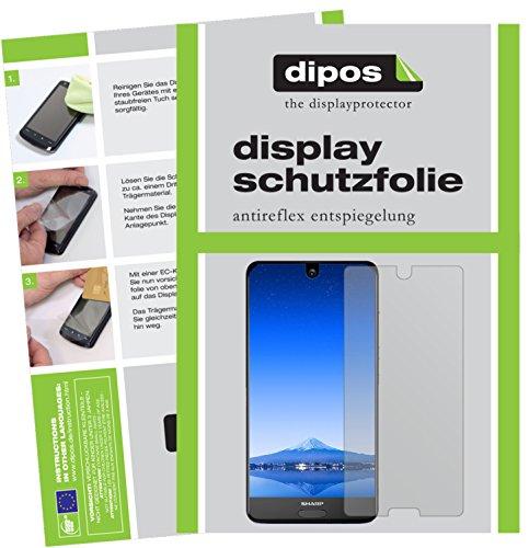 Sharp Aquos S2 Schutzfolie - 6x dipos Displayschutzfolie Folie matt