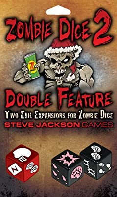 Zombie Dice 2 Double Feature Extension Jeu de dés (français non garanti)