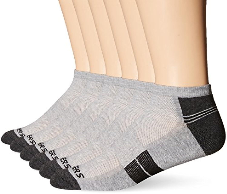 Skechers Men's 6 Pack Half Cushion Socks