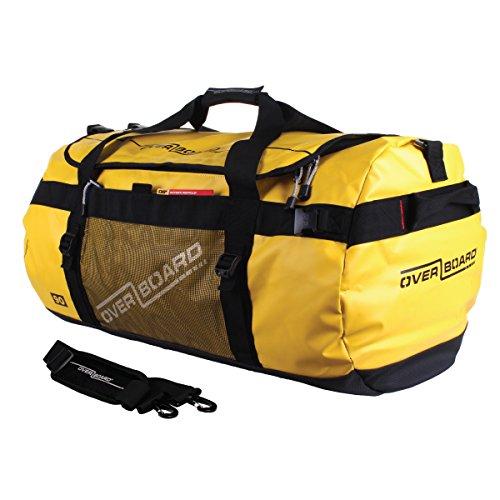 Overboard Adventure Bolsa Estanca, 78 cm, 90 Litros, Amarillo