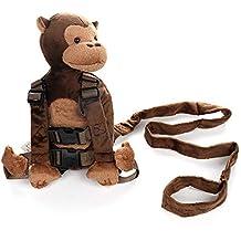 Bébé anti-perte Sac, Louisayork enfant Dessin animé Animal Sac à dos, singe 687e24caade